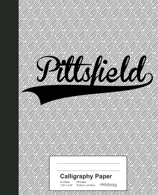 Calligraphy Paper: PITTSFIELD Notebook Cover Image