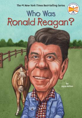 Cover for Who Was Ronald Reagan? (Who Was?)