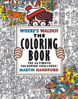 Where's Waldo? The Coloring Book Cover Image