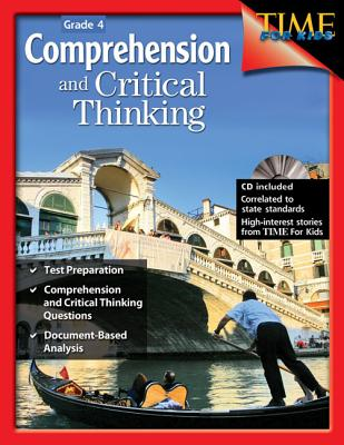 Comprehension and Critical Thinking Grade 4 (Grade 4) [with Cdrom] [With CDROM] Cover Image