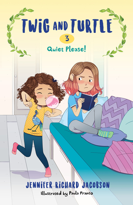 Twig and Turtle 3: Quiet Please! Cover Image
