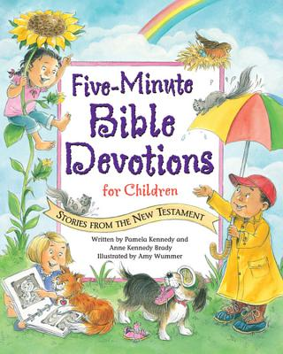 Five Minute Bible Devotions New Testament Cover Image