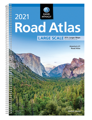 Rand McNally 2021 Large Scale Road Atlas Cover Image