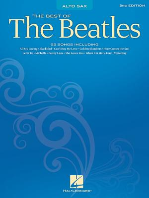 Best of the Beatles: Alto Sax Cover Image