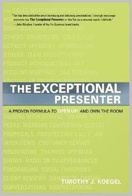 The Exceptional Presenter Cover