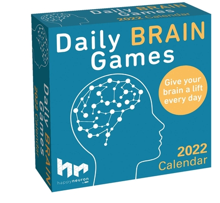 Daily Brain Games 2022 Day-to-Day Calendar Cover Image