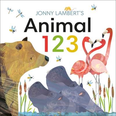 Cover for Jonny Lambert's Animal 123 (Jonny Lambert Illustrated)