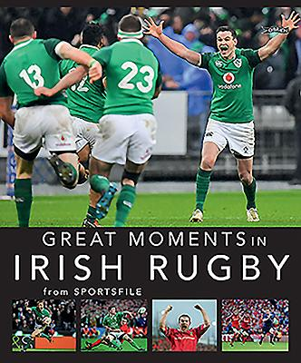 Great Moments in Irish Rugby Cover Image