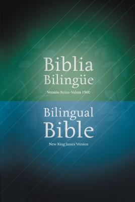 Biblia Bilingue-PR-Rvr 1960/NKJV Cover Image