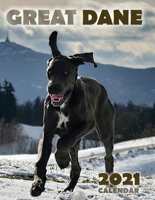 Great Dane 2021 Calendar Cover Image