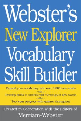 Webster's New Explorer Vocabulary Skill Builder Cover Image