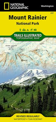 Mount Rainier National Park (National Geographic Maps: Trails Illustrated #217) Cover Image