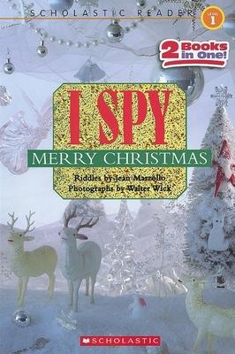 I Spy Merry Christmas (Scholastic Reader, Level 1) Cover Image