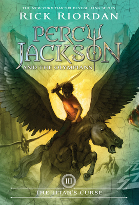 Percy Jackson and the Olympians, Book Three the Titan's Curse Cover