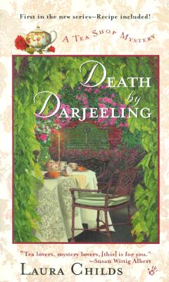 Death by Darjeeling (A Tea Shop Mystery #1) Cover Image