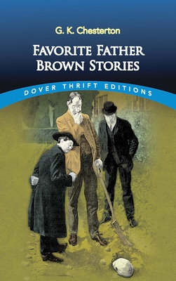 Favorite Father Brown Stories (Dover Thrift Editions) Cover Image