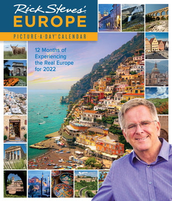 Rick Steves' Europe Picture-A-Day Wall Calendar 2022 Cover Image