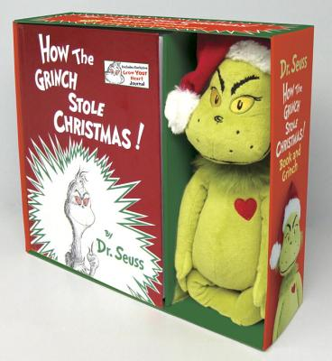 How the Grinch Stole Christmas! Book and Grinch (Classic Seuss) Cover Image