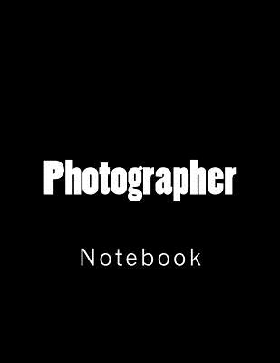 Photographer: Notebook Cover Image