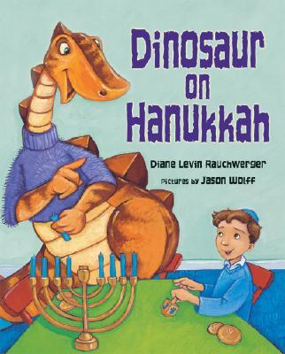 Dinosaur on Hanukkah Cover