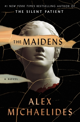 Signed copy and enamel pin of The Maidens by Alex Michaelides
