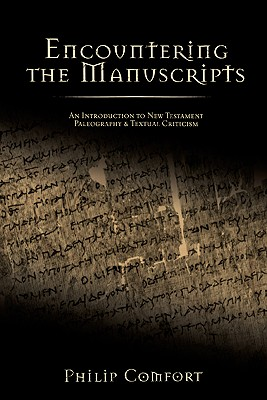 Encountering the Manuscripts Cover