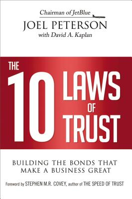 The 10 Laws of Trust Cover