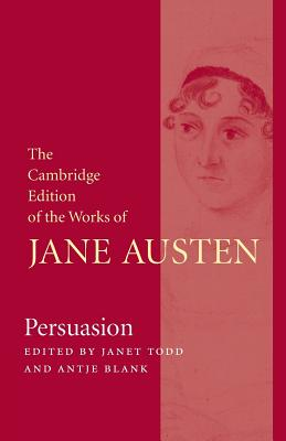 Persuasion (Cambridge Edition of the Works of Jane Austen) Cover Image