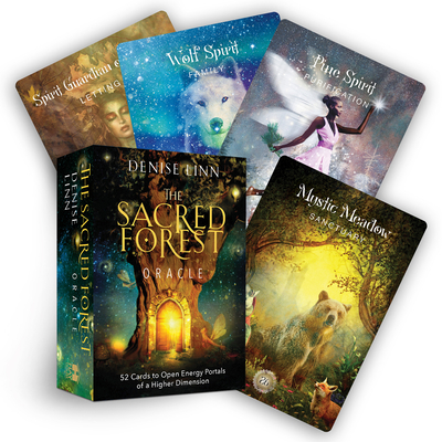 The Sacred Forest Oracle: 52 Cards to Open Energy Portals of a Higher Dimension Cover Image