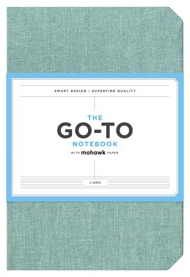 Go-To Notebook with Mohawk Paper, Sage Blue Lined: (Lined Notebook, Line Notebook, Notebook with Lines) Cover Image