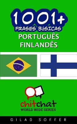 1001+ Frases Básicas Portuguès - Finlandès Cover Image