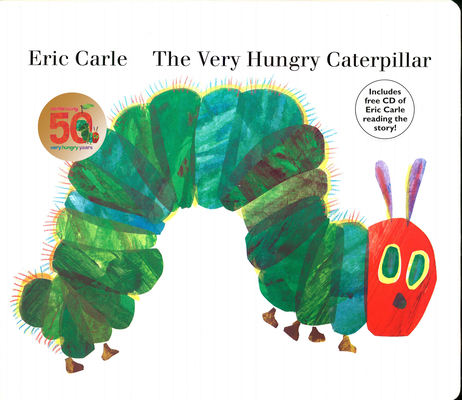 The Very Hungry Caterpillar: board book & CD Cover Image