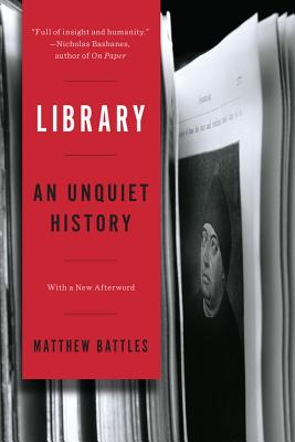 Library: An Unquiet History Cover Image