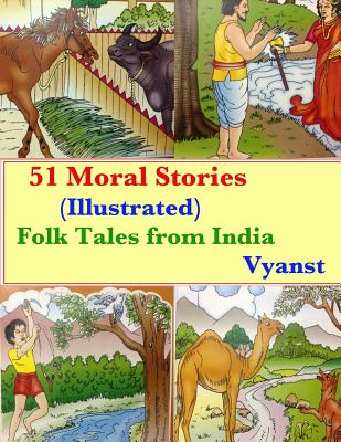 51 Moral Stories (Illustrated): Folk Tales from India Cover Image