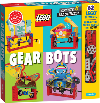 Lego Gear Bots: Create 8 Machines Cover Image