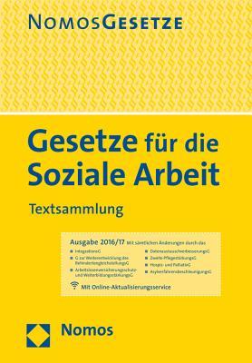 Gesetze Fur Die Soziale Arbeit: Textsammlung Cover Image