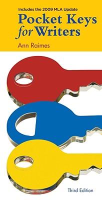 Pocket Keys for Writers, 2009 MLA Update Edition Cover Image
