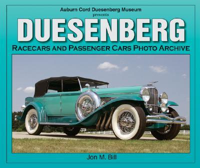 Duesenberg Racecars & Passenger Cars Photo Archive Cover Image
