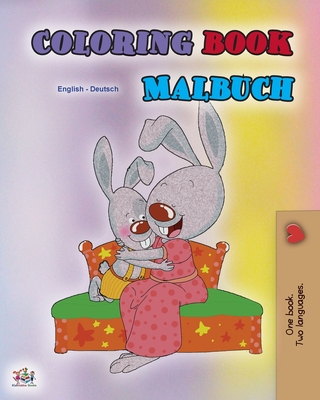 Coloring book #1 (English German Bilingual edition): Language learning colouring and activity book (English German Bilingual Collection) Cover Image