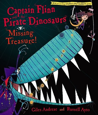 Captain Flinn and the Pirate Dinosaurs Cover