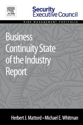 Business Continuity State of the Industry Report Cover Image