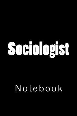 Sociologist: Notebook Cover Image