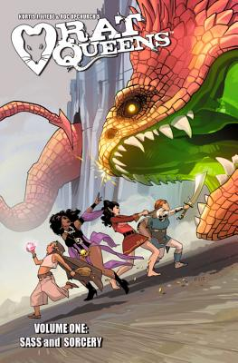 Rat Queens Volume 1: Sass & Sorcery Cover Image