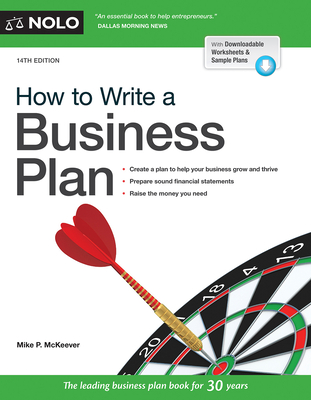 How to Write a Business Plan Cover Image