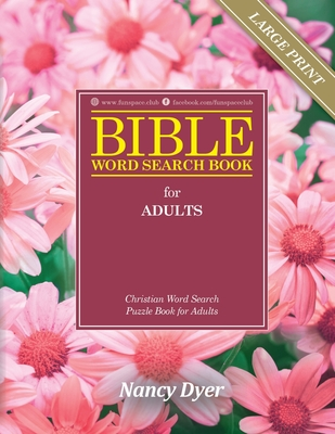 Bible Word Search Books for Adults Large Print: Christian Word Search Puzzle Books for Adults Cover Image