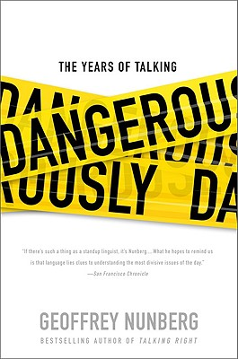 The Years of Talking Dangerously Cover