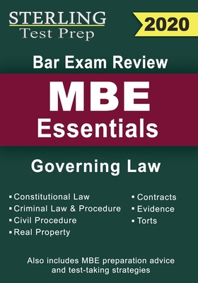 Sterling Test Prep Bar Exam Review MBE Essentials: Governing Law Outlines Cover Image