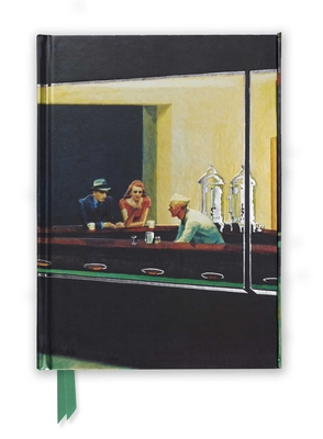 Edward Hopper: Nighthawks (Foiled Journal) (Flame Tree Notebooks #34) Cover Image