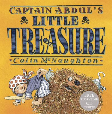 Captain Abdul's Little Treasure [With CD] Cover