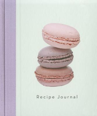 Three Macaroons- Large Recipe Journal Cover